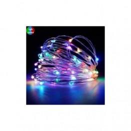 PERİ LED RGB PİLLİ 3 FONKSİYONLU 5 METRE PİL HEDİYELİ