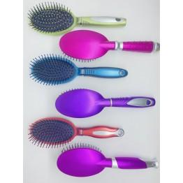HaoWei Oval Renkli Saç Fırçası Tarak