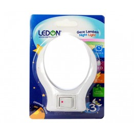 LEDON LD-9010 LEDLİ ANAHTARLI GECE LAMBASI