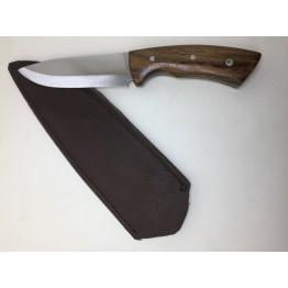 Hisar Ergonomik Tutuşlu Klasik Av ve Kamp Bıçağı Deri Kılıf Hediyeli
