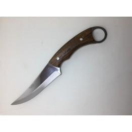 Hisar Parmak Tutuşlu Av ve Kamp Bıçağı Deri Kılıf Hediyeli