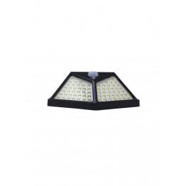 100 COB LED'li Güneş Enerjili Sensörlü Duvar ve Bahçe Lambası