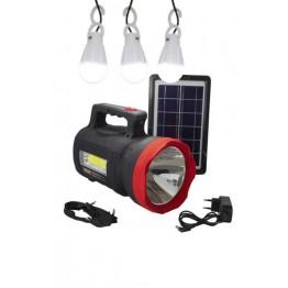 GOLD SILVER GS-540 Güneş Enerjili Solar Aydınlatma Sistemi