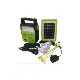GOLD SILVER GS-902P Güneş Enerjili Solar Aydınlatma Sistemi