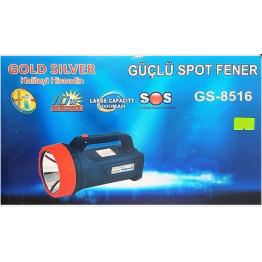 GOLD SILVER GS-8516 2000 METRE IŞIK UZANTILI 10 WATT PROJEKTÖR