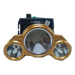 Kırgıl V3913 Şarjlı Power Led 3'lü Kafa Lambası