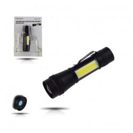 Gold Silver GS-510 USB ile Şarj Edilebilir T6 Led El Feneri