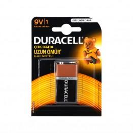 Duracell 9V Alkalin 9 volt Pil