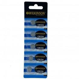 WILKINSON 1216 3V Lityum Düğme Pil 5'li Paket