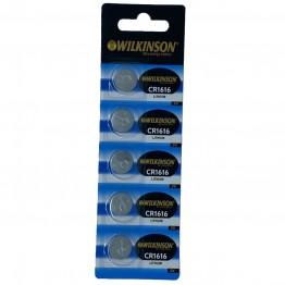 WILKINSON 1616 3V Lityum Düğme Pil 5'li Paket