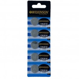 WILKINSON 2016 3V Lityum Düğme Pil 5'li Paket