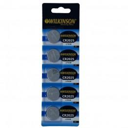 WILKINSON 2025 3V Lityum Düğme Pil 5'li Paket