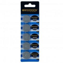 WILKINSON 2450 3V Lityum Düğme Pil 5'li Paket