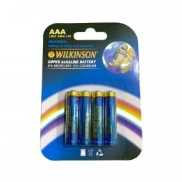 WILKINSON AAA LR03 AM-4 4'lü 1.5 V Süper Alkalin İnce Pil