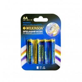 WILKINSON AA LR6 AM-3 4'lü 1.5 V Süper Alkalin Kalem Pil