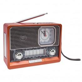Everton RT-306BT USB/TF/FM/Bluetooth Destekli Saat Göstergeli Nostaljik Radyo