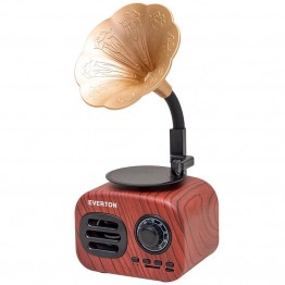 Everton RT-705BT USB/SD/FM/Bluetooth Destekli Nostaljik Gramafon Model Radyo
