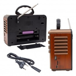 Everton RT-812 USB-SD-FM Nostaljik Radyo Müzik Kutusu