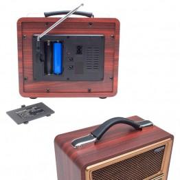 Everton RT-821 USB/TF/FM/Bluetooth Destekli Nostaljik Radyo