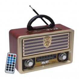 Everton RT-852 Bluetoothlu Müzik Kutulu Nostaljik Radyo Usb Mp3 Player