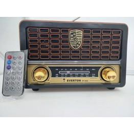 Everton RT-862BT USB/SD/FM/Bluetooth Destekli Kumandalı Nostaljik Radyo