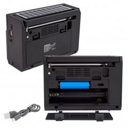 Everton RT-872 Solar Panelli Müzik Kutusu USB – SD – FM - SW