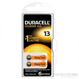 Duracell 13 Numara 6 lı İşitme Cihazı Pili