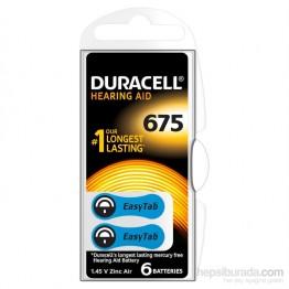 Duracell 675 Numara 6 lı İşitme Cihazı Pili