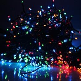 9MT 100 Adet Prinç Led Renkli Yılbaşı Ağacı Süsü